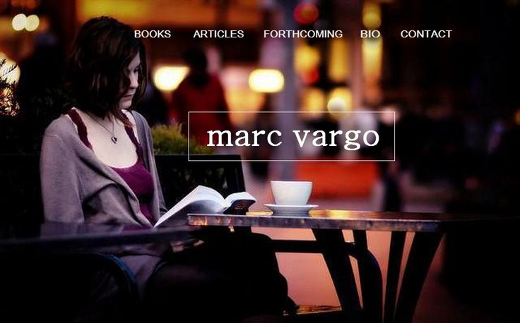 """~ Marc Vargo 