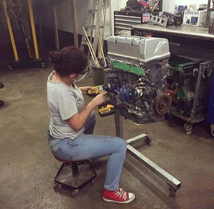 Mujeres mecanicas +10 si te gusta alguna - Taringa!