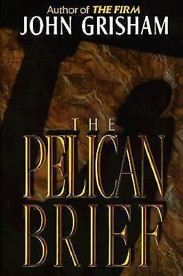 The Pelican Brief by John Grisham (1992, Hardcover, Large Type)
