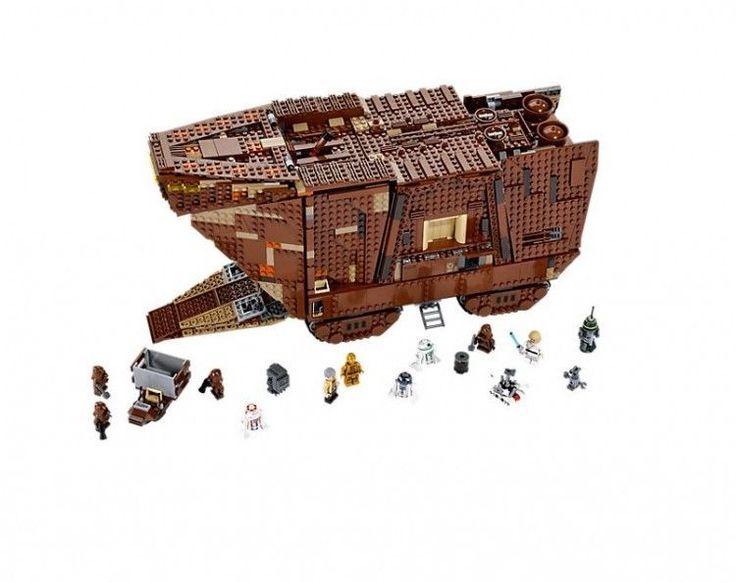 Lego Star Wars Sandcrawler Episode IV New Hope Jawas' Hard To Find Toys  #LEGO
