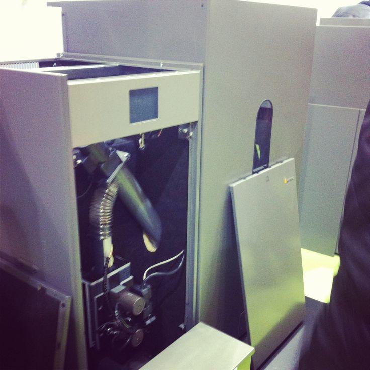 Súper caldera de Pellets automática Domusa.