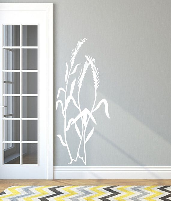 Sea Oats Sea Grass Style D Beach Vinyl by CuttinUpCustomDieCut, $50.00