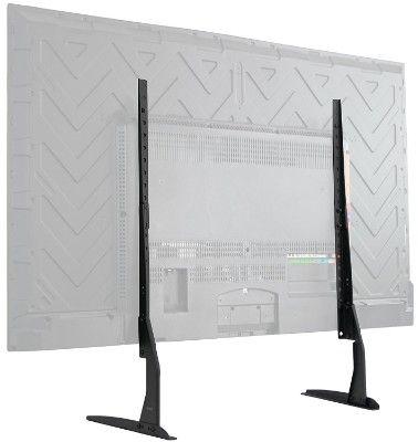 VIVO Universal LCD, LED, Plasma Flat Screen TV Table Top Mount Stand (22-65 inch) Black
