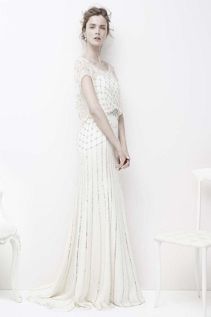 """Jenny Packham """"Bardot"""" :: Available in Australia exclusively at Helen Rodrigues, Sydney +61 2 9904 5700"""
