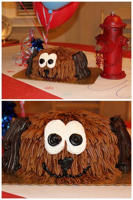 Puppy Dog Birthday Party Cake!
