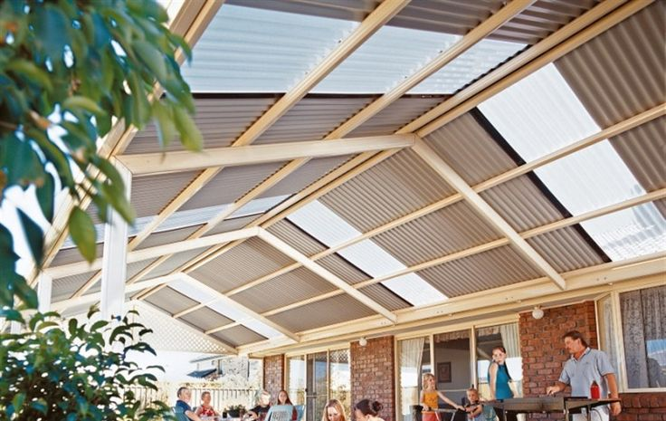 Stratco Outback Traditional Gable available now from Verandah Creations. Free Call 1800 854 820