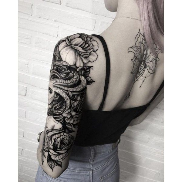 THE WILD TATTOO ❤ liked on Polyvore featuring accessories and body art