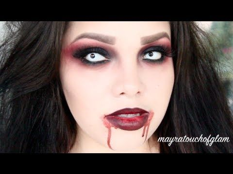 Vampire Makeup Tutorial This will be me for Halloween at The 901 Nightmare!!!! Come check us out!!!