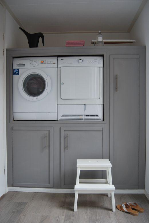 Zo wordt wassen zelfs leuk. Wat een mooie oplossing!