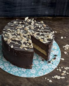 Try Candice's winning chocolate orange cake from The Great British Bake Off