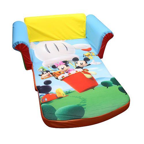 Marshmallow Boys Flip Open Sofa - Disney's Mickey Mouse Clubhouse