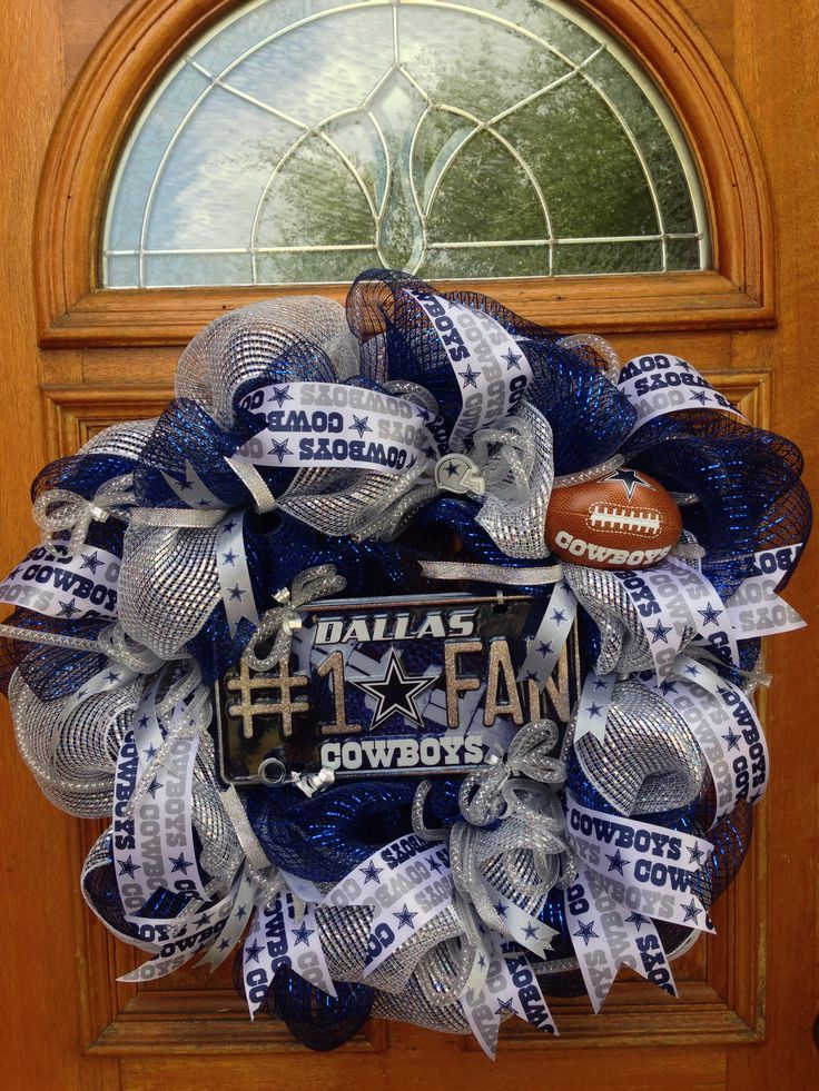 Best 10 Dallas cowboys wreath ideas on Pinterest