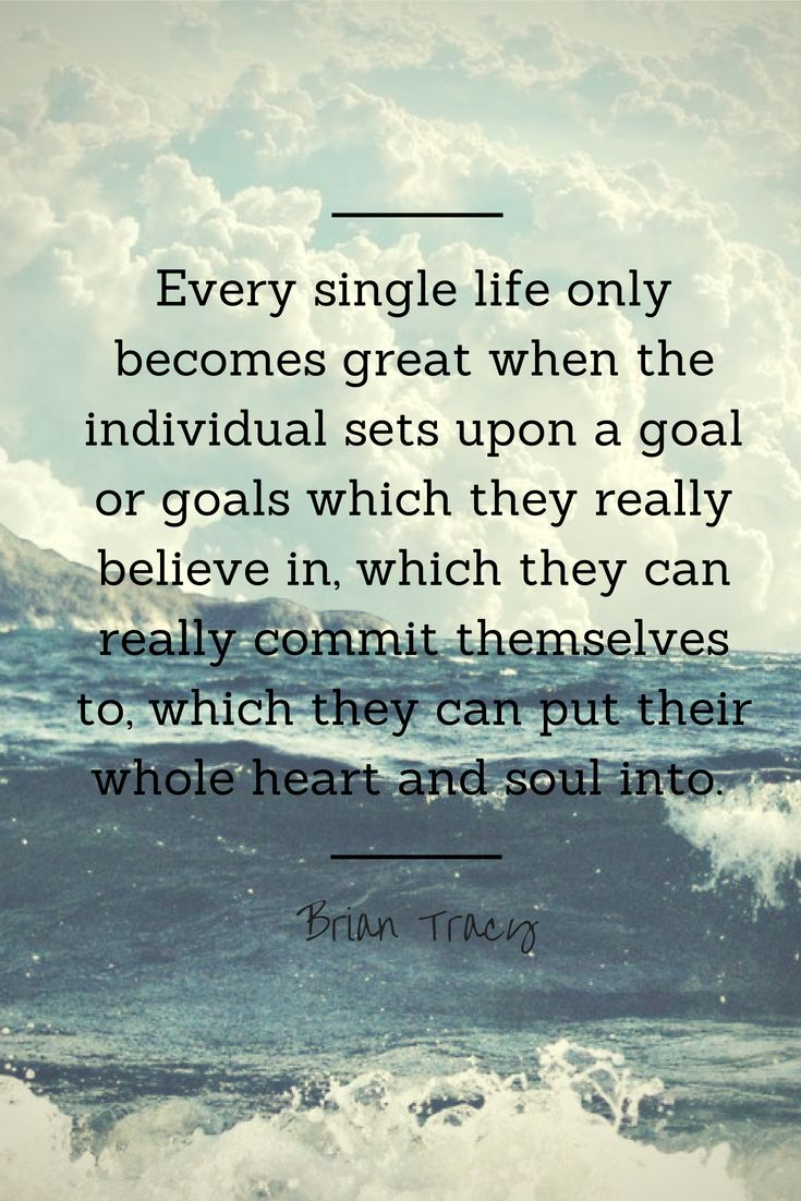 The establishment of a clear, central purpose or goal in life is the starting point of all success. Brain Tracy Quotes - Brian Tracy Quotes - Brian Tracy