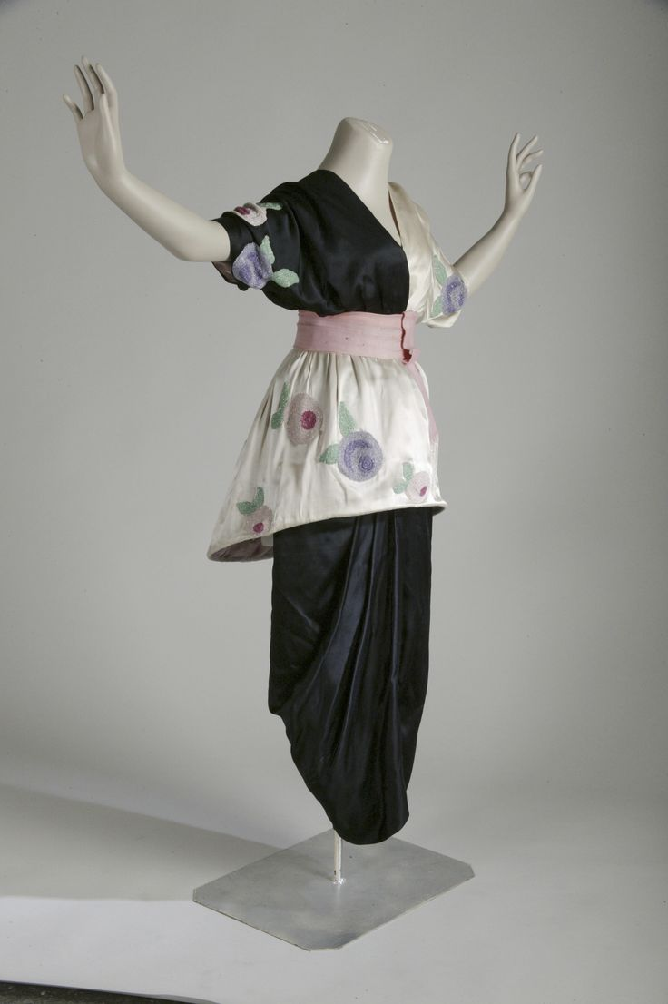 Paul Poiret, Evening Dress, 1913, V&A Museum, London ...