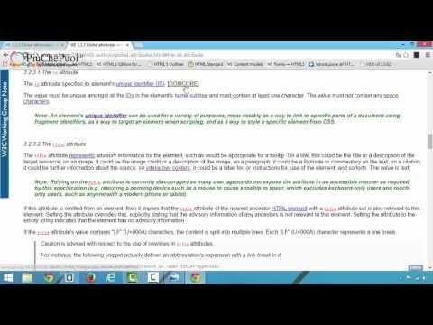 HTML5: il corso Fondamentale | Corso in HD | Lezione 32 | Usare gli attributi class e ID - YouTube