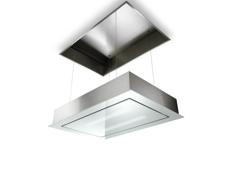 Built-in glass and steel cooker hood SKYLIFT Built-in design Line by FABER