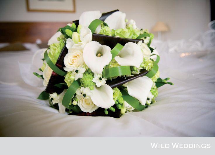 Lime Green Wedding Flowers