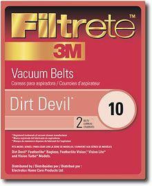 3M - Filtrete Dirt Devil 10 Replacement Belt, 65010