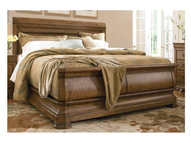 Pennsylvania House Bedroom Louie Ps Sleigh Bed, Queen 5/0 07175B    Woodleyu0027s Furniture