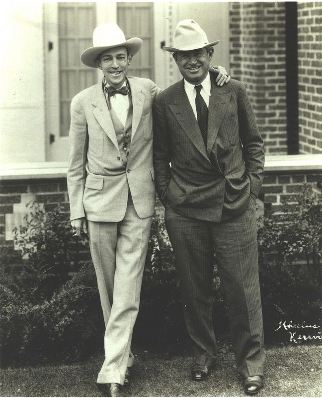 Jimmie Rodgers and Will Rogers | Flickr - Photo Sharing!