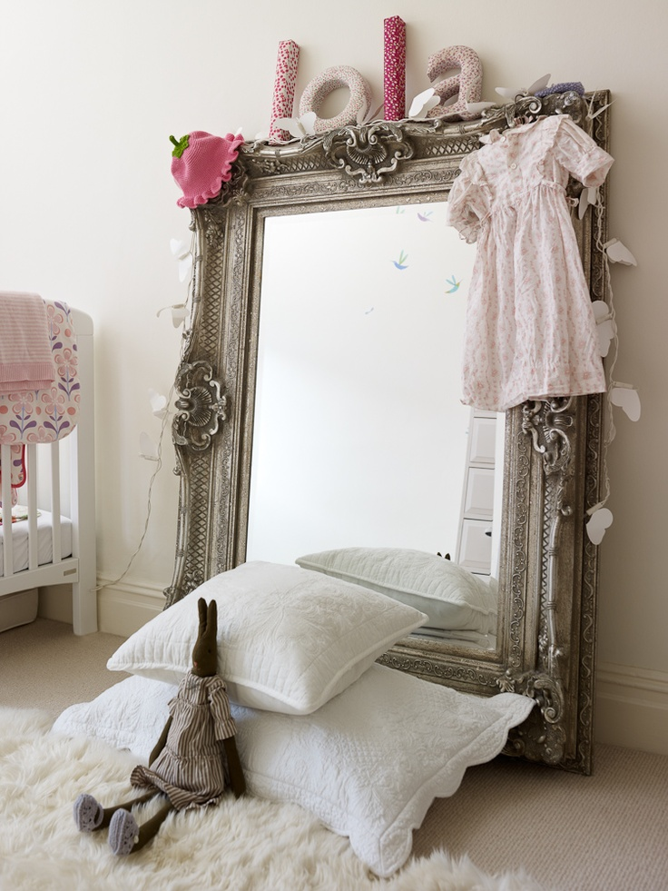 The beautiful Rococo Silver Gilt Mirror from