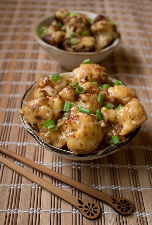 cauliflower manchurian recipe with step by step photos - saucy, umami and spicy indo chinese recipe of cauliflower manchurian.  #cauliflower #manchurian