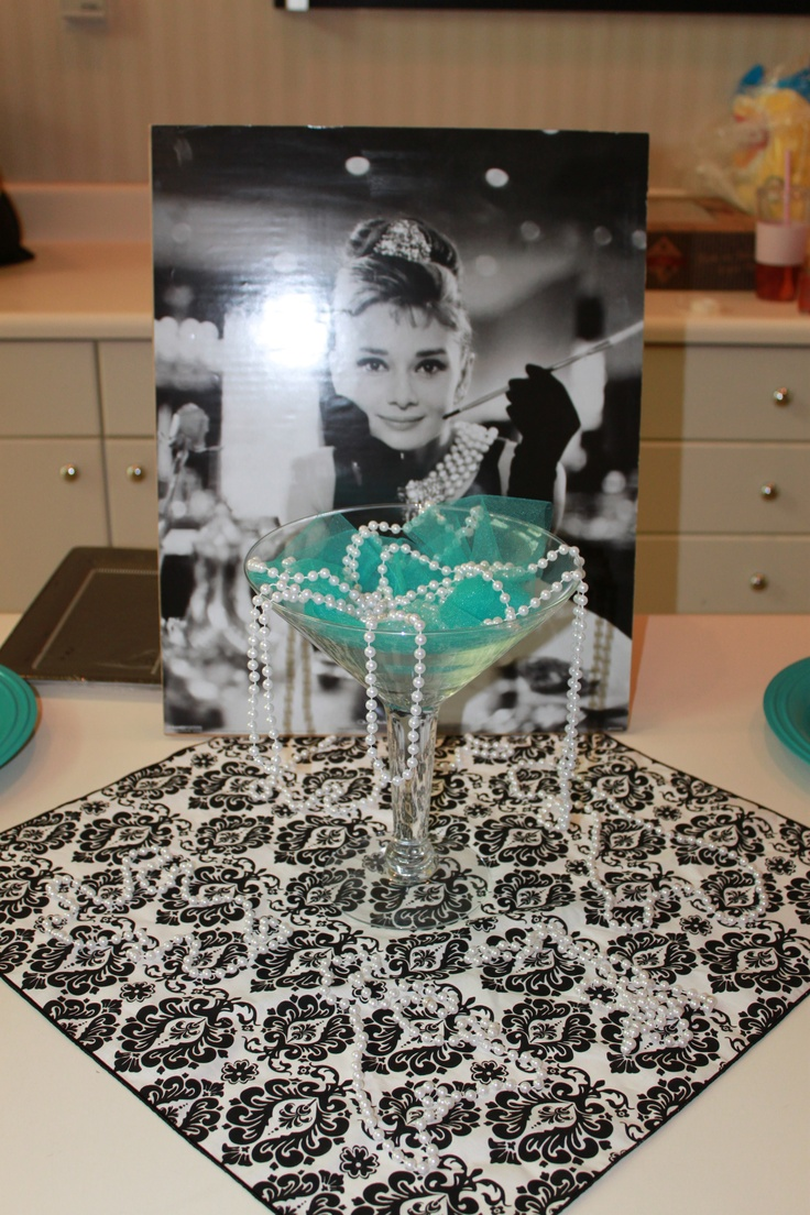 Breakfast at Tiffany's Bridal Shower for my sister in law.