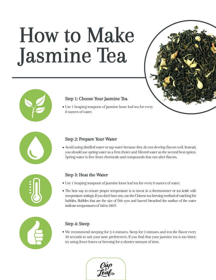 How To Make Jasmine Tea Herbal Tea Blends Tea Benefits