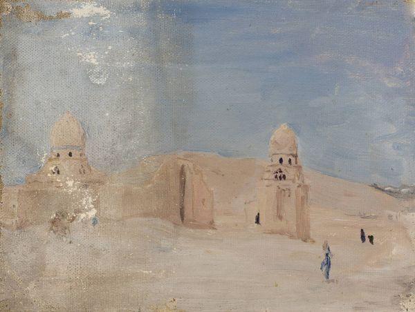 Świątynia Z podróży do Egiptu - Jan Ciągliński