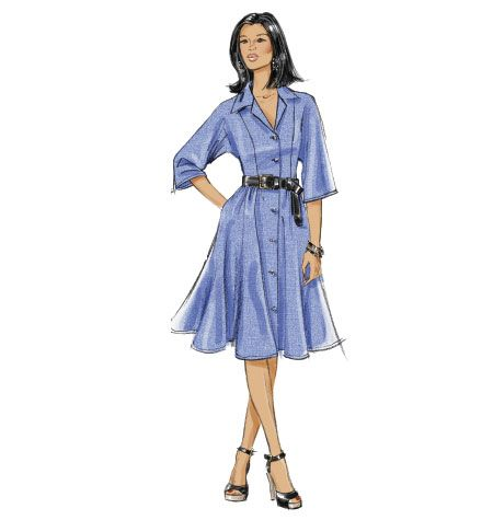 DIY Shirt Dress from Very Easy Vogue.