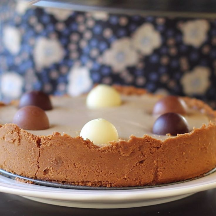 Easy recipe, no baking need. Cookie Butter Cheesecake.
