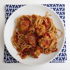 Chicken and Turkey Meatballs - This is a delicious, healthy take on an old standby. The spices give the meatballs a Mediterranean edge. Once you've cooked the meatballs, they can be frozen to star in another meal another day.
