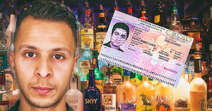 THE MOHAMED ATTA SYNDROME Muslim Ibrahim Abdeslam drank and smoked marijuana