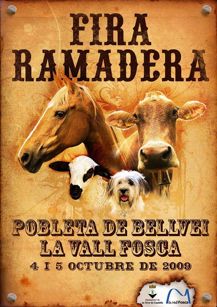 Cartell Fira Ramadera 2009