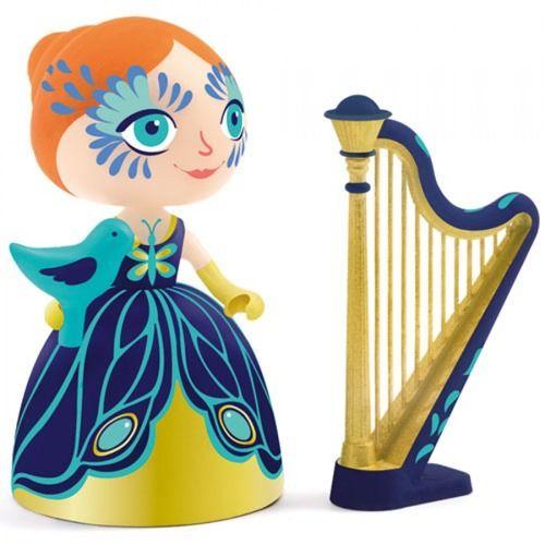 DJECO Figurka ELIZA Z HARFĄ - Arty Toys