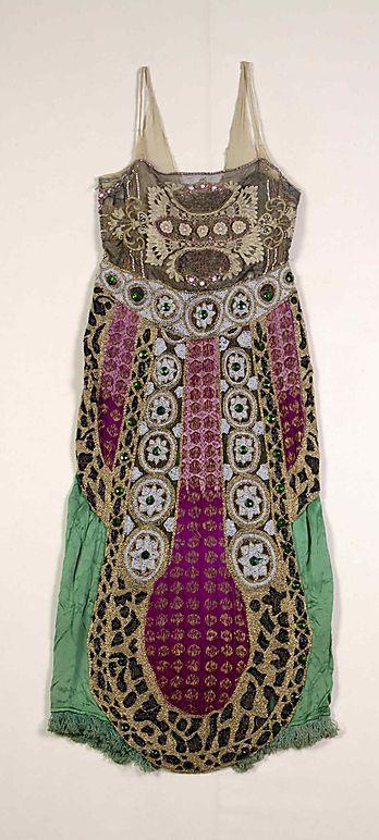 Sil, beaded dress, 1920s