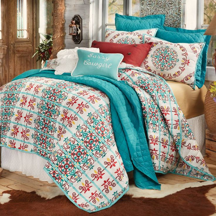 Talavera Quilt Bed Set - King
