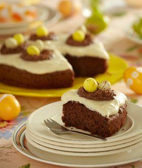Server denne drøm af en chokoladekage som den perfekte afslutning på påskefrokosten