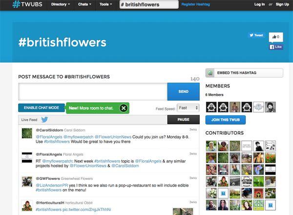 Flowerona Tips : Use Twubs to follow Twitter Chats | Flowerona