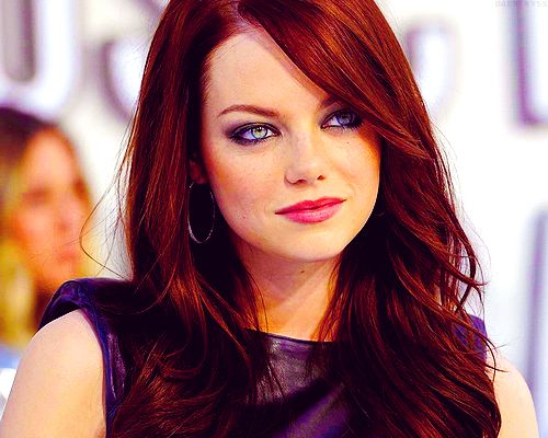 Emma Stone red