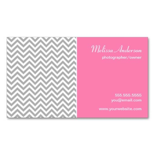 100 best 100 creative pink business cards for your inspiration half chevron pattern gray and pink business card templates this great business card design is available for customization all text style colors fbccfo Image collections