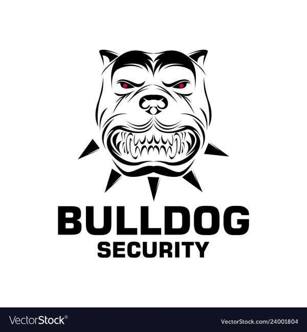 12 Bulldogs Logo Vector Vector Logo Bulldog Bulldog Security
