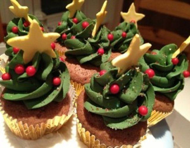 Receita de Cupcakes de Natal   Doces Regionais