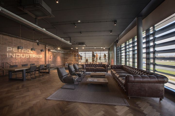 Petrol Industries office and show room by VDS Conceptdesign, Tilburg – The Netherlands » Retail Design Blog