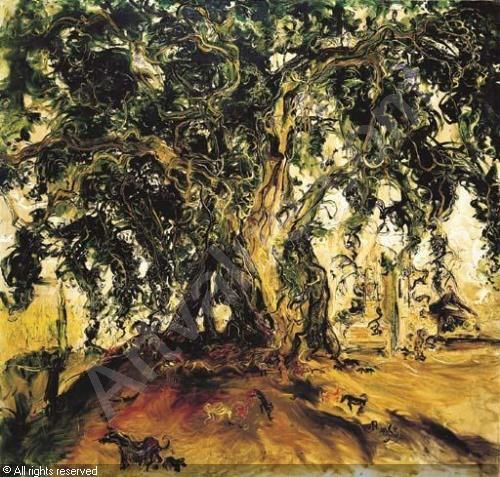 Affandi. Banyan Tree