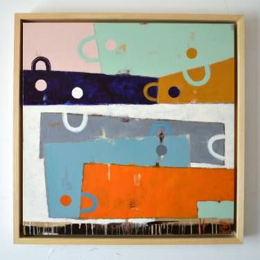 "Saatchi Art Artist Matteo Cassina; Painting, ""Links"" #art"