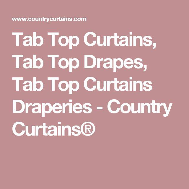 Curtains Ideas chocolate brown tab top curtains : 17 best ideas about Tab Top Curtains on Pinterest   Tab curtains ...