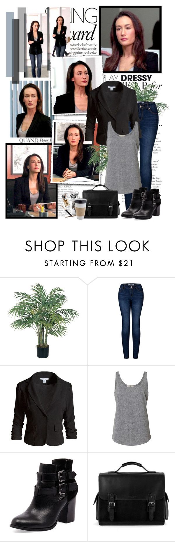 """""""Beth Davis"""" by productionkid ❤ liked on Polyvore featuring Bela, Nearly Natural, 2LUV, Sans Souci, Bonbons, Aspinal of London, Garance Doré, Mont Blanc, stalker and MaggieQ"""