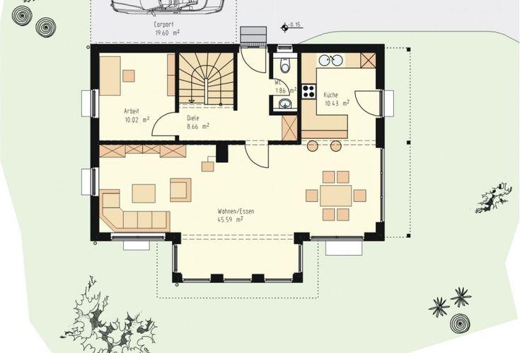 die besten 25 kleiner bungalow ideen auf pinterest kleine hauspl ne kleine grundrisse und. Black Bedroom Furniture Sets. Home Design Ideas