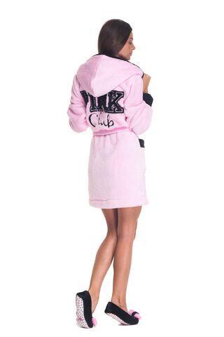 Poppy DK Pink Club köntös - rózsaszín  Bathrobe
